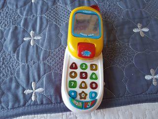 Telefono juguete Bebe Vtech. Juguetes bebe