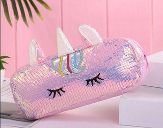 Neceser lentejuelas unicornio