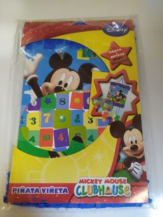 Piñata Mickey Mouse sin estrenar