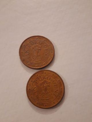 Monedas de 1 céntimo