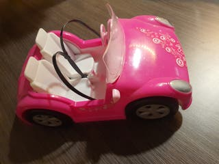 juguete coches monster y barbie