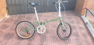 Bicicleta pkegable Dahon accidentada para piezas