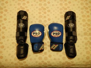 Kit Muay Thai Boxeo