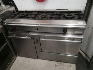 Cocina + Horno Gas industrial