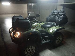 vendo quad ATV Campbell 650 4x4 Nordik