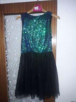 Vestido corto talla 42