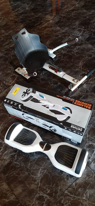 Hoverboard más accesorio Kart