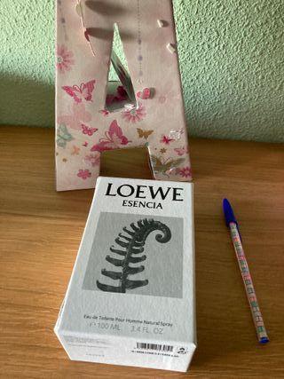 Caja vacía Esencia Loewe