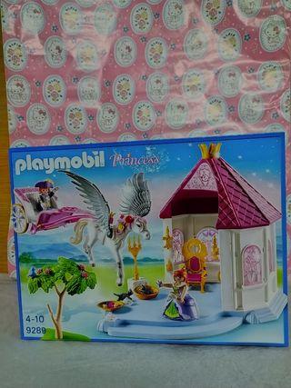 Playmobil Princess habitación de princesa con Pega