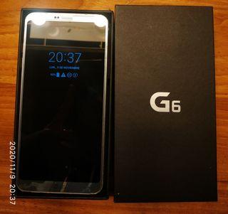 LG G6 AZUL CON CAJA Y CARGADOR