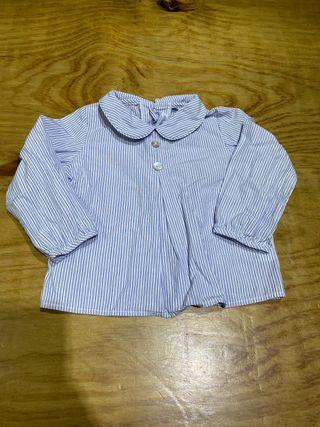 Talla 6-9 meses, camisa bebe niño