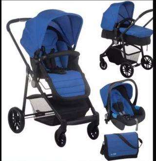 carrito bebé nurse 2 3 piezas