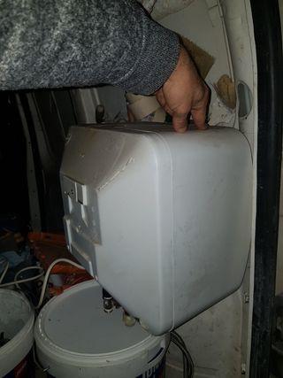 termo eléctrico para mueble cocina