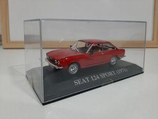 Maqueta Seat 124 Sport (1971)