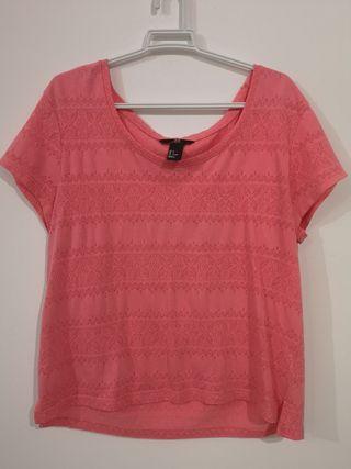 Camiseta rosa de H&M
