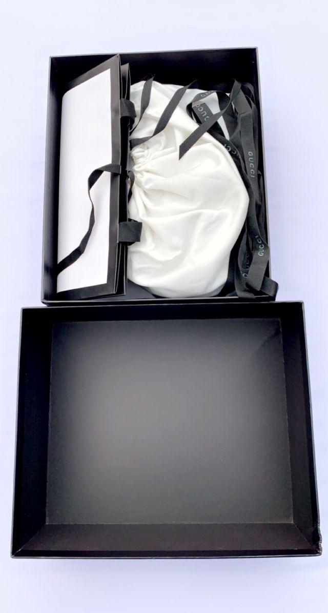 Gucci GG Black Supreme Crossbody Shoulder Bag