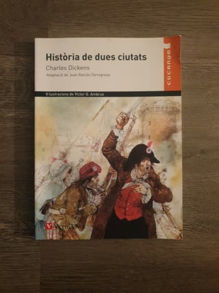 LIBRO HISTORIA DE DUES CIUTATS DE CHARLES DICKENS