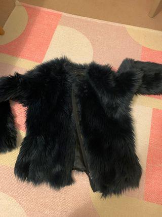 Faux fair coat