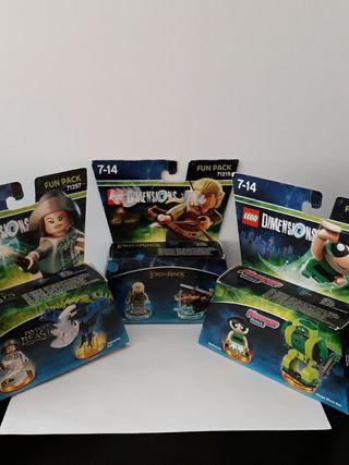 LOTE LEGO DIMENSIONS LEGOLAS-CACTUS-TINA