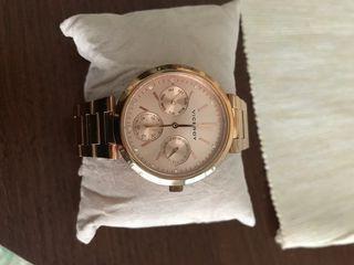 Reloj oro-rosa para mujer