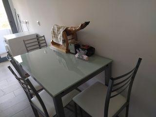 mesas de cocina y sillas baratas en murcia