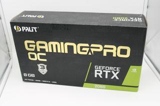 TARJETA GRÁFICA PALIT RTX 2080 GAMING PRO OC 8GB