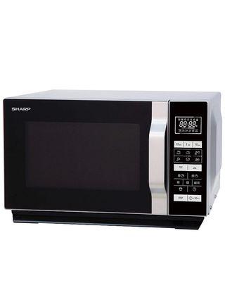 Sharp R660S - Microondas 2 en 1 (800 W, 20 L
