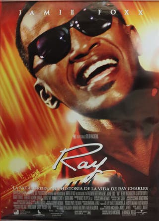 Póster película Ray