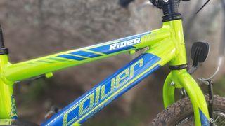 """Bicicleta 16"""" Colver cuadro aluminio"""
