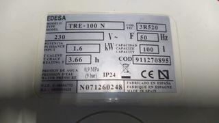 termo eléctrico edesa 100Litros