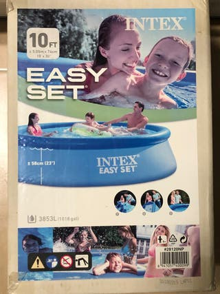 Piscina hinchable Intex 3,05 x 0,76 sin depuradora