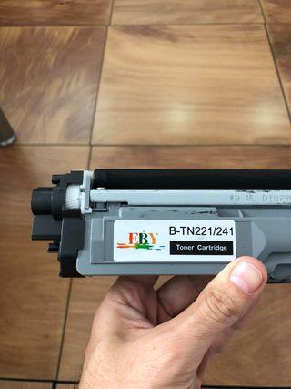 Cartuchos toner pack 5 colores compatible Brother