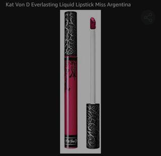 everlasting liquid Lipstick Kat von b