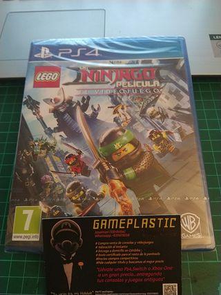 Lego Ninjago El Videojuego PS4 (Precintado)