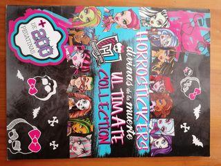 libro de monster high