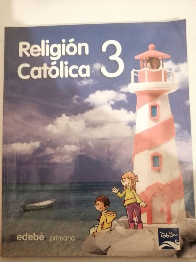 Libro religion tercero primaria.