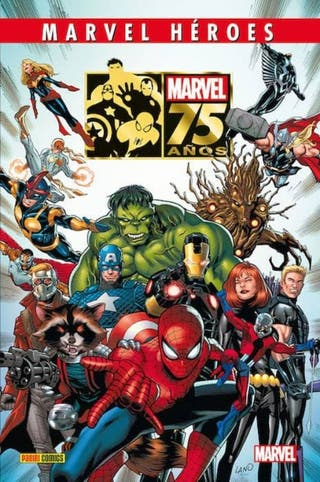 Marvel Héroes 75 años