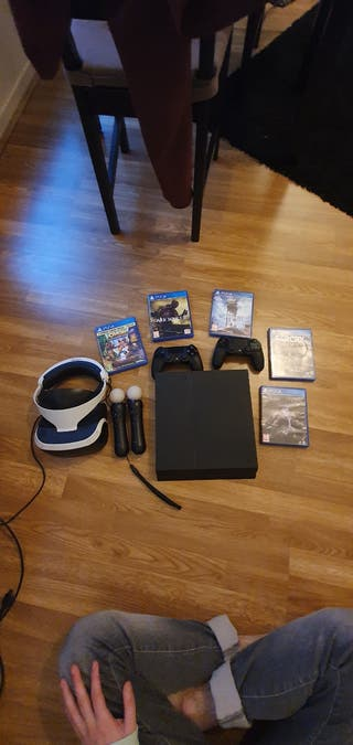 PS4 + CASQUE VR