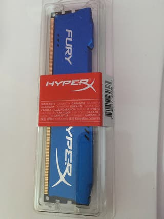 Tarjeta RAM DE 8 gb DDR3 Fury Hyper