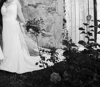 Vestido de novia Sirena.T44