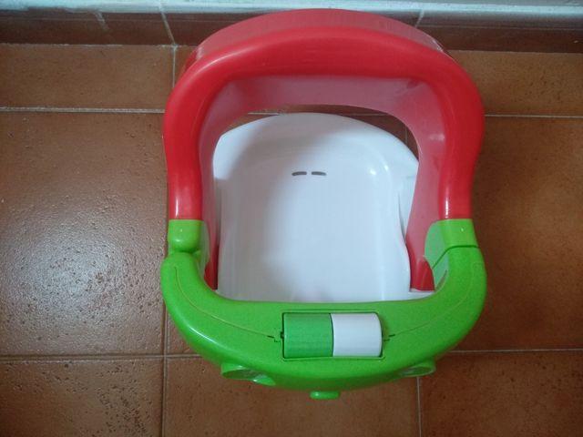 Asiento ducha bebé