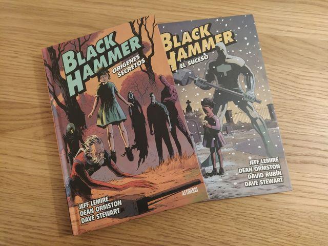 Black Hammer #1 y #2