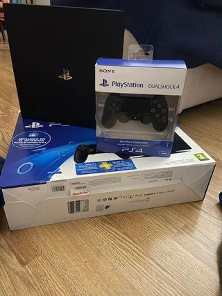 PS4 Pro 1T+Casco VR+Camara+AIM Controller+Juegos