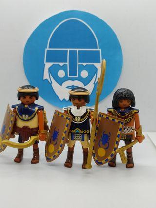Playmobil lote soldados Egipcios