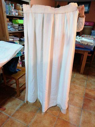 cortinas algodón