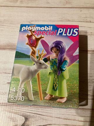 Playmobil hada mágica con ciervo