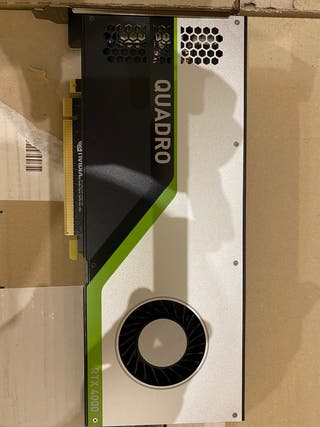 Tarjeta gráfica Nvidia Quadro RTX 4000
