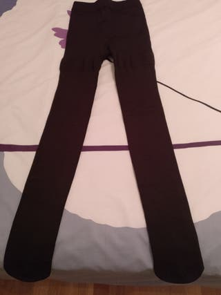 Leotardos color marrón