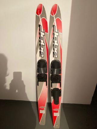 Esquís, skis nauticos JOBE
