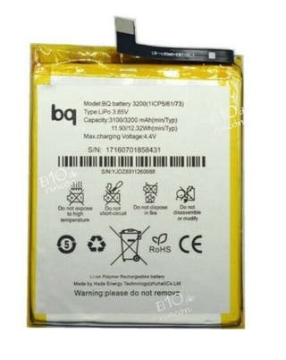 BATERIA ORIGINAL PARA BQ AQUARIS X5 PLUS